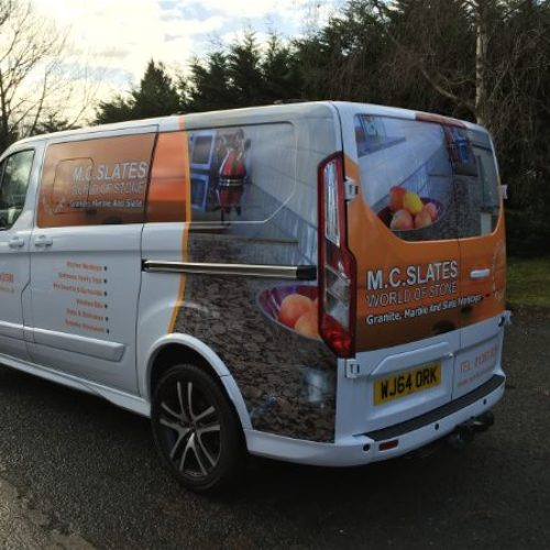 Vehicle Signwriting, Graphics and Wrapping
